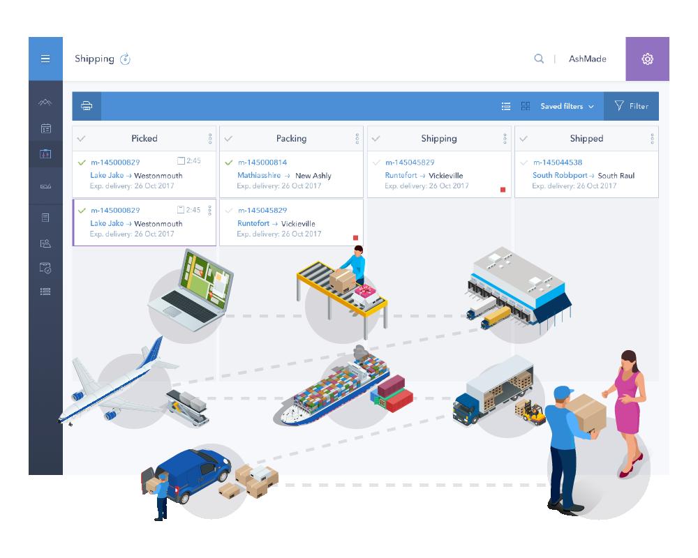 shipping automation platform