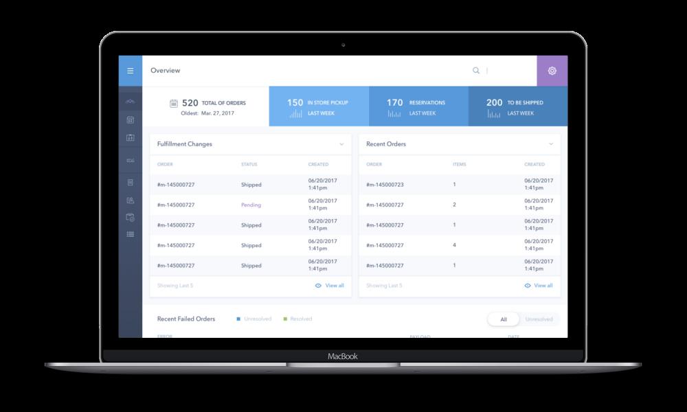 Fully customizable order management platform
